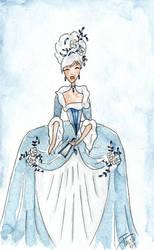 Washington Girl Watercolor by LaFoi