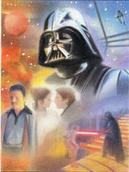 Star Wars Empire Strikes Back Sketch Card II by TRENTBRUCE