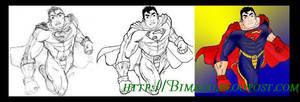 Neo-Superman Proceso by Bimago