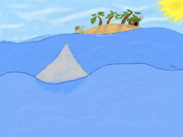 Shipwrecked on the uncharted by SteveZed