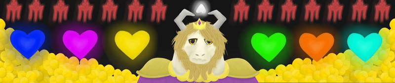 Asgore Banner by FadingRiver