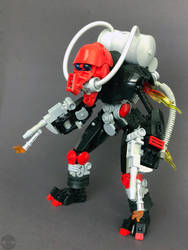 Bionicle MOC: Incinerator Slizer: Torch by LordObliviontheGreat