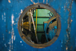 9516, old AMCOR papermill. by thespook