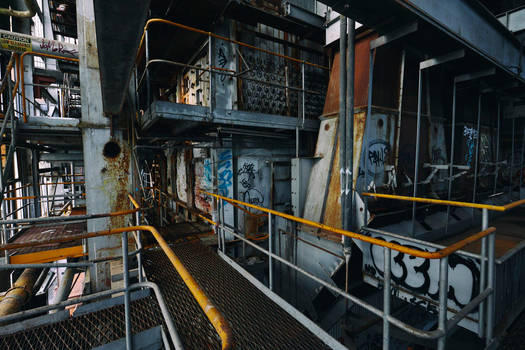 1148, old AMCOR papermill. by thespook