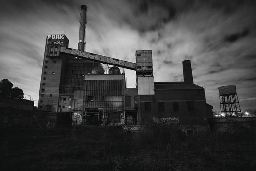 5769, old AMCOR papermill. by thespook