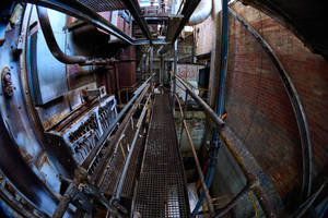 6118, old AMCOR papermill. by thespook