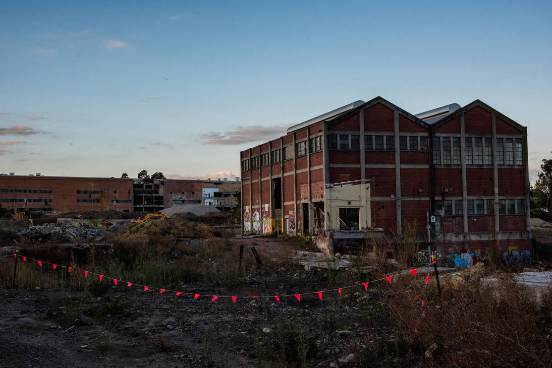 1302, old AMCOR papermill. by thespook