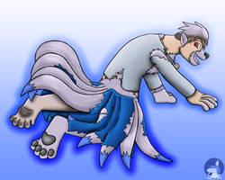 Poke-strap: Ninetales (Shiny) by 3waycrash