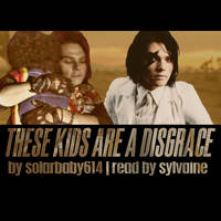 These Kids Are A Disgrace Cover by thriceandonce