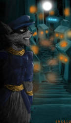 Sly Cooper by EricHollobaughArt