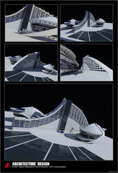 3D Architectural Design by QuentinGG