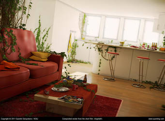 Vegetatif: composited render by QuentinGG