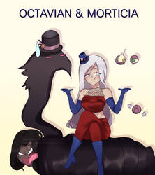~ART TRADE~ Octavian and Morticia by ABSWillowFan