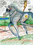 Lightning Steed by Senecal