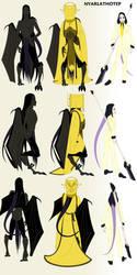 Nyarlathotep, beau and villain by putti-plush