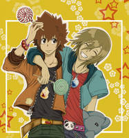 ::Tsuna and Basil - SMILE:: by andungen