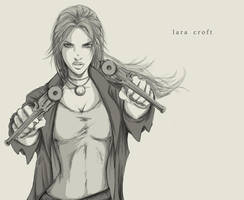 Lara Croft by andungen