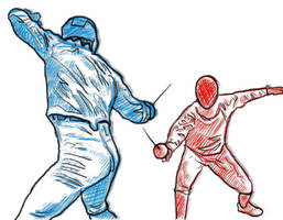 fencing club by galfmizal