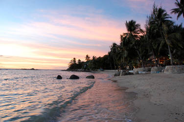 Island Sunset by Patrickske