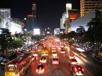 Bangkok by night by Patrickske