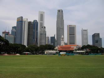 Singapore Skyline by Patrickske