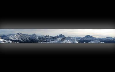 Mountain Panorama Wallpaper by Patrickske