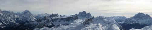 Dolomites Panorama by Patrickske