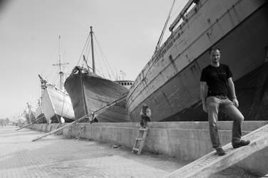Jakarta Harbour - 1 by Patrickske
