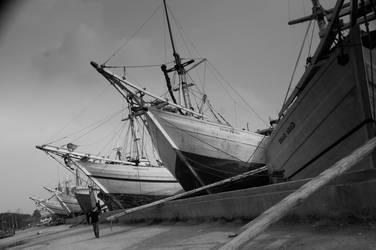 Jakarta Harbour - 2 by Patrickske