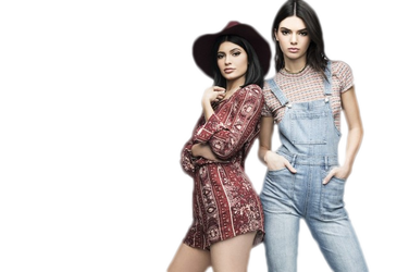 PNG ft. Kylie and Kendall Jenner #2 by Katie-Salvatore