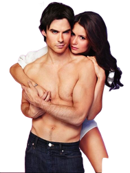 PNG ft. Ian Somerhalder and Nina Dobrev #1 by Katie-Salvatore