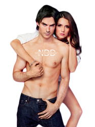 PNG ft. Ian Somerhalder and Nina Dobrev #2 by Katie-Salvatore
