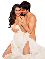 PNG ft. Ian Somerhalder and Nina Dobrev #3 by Katie-Salvatore