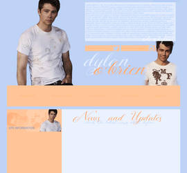 Free Layout ft. Dylan O Brien by Katie-Salvatore