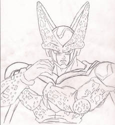 Cell Final Form by TotalFantasy
