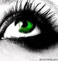 green eyes... by blackandwhitesong