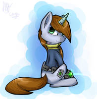 Fallout: Equestria - Littlepip by SupLoLNope