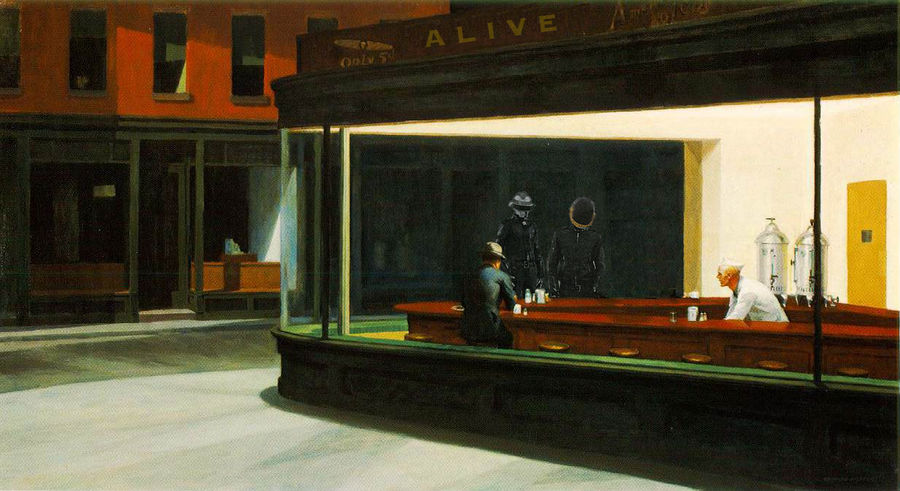 Daft Punk - Nighthawks by danschul