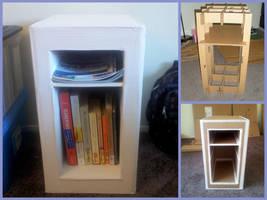 Cardboard Shelf by shihh203236