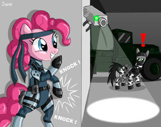 Metal Gear Pony by Jrenon