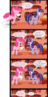 Pinkie and the script by Jrenon