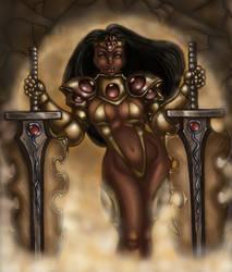 True Queen of Swords. by ebony-chan