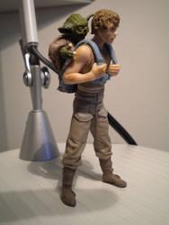 Dagobah Luke and Yoda by RPGuere