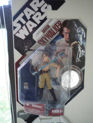 Anakin with Sculpter Autograph by RPGuere