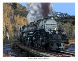 Union Pacific 4-8-8-4 Big Boy by markkarvon