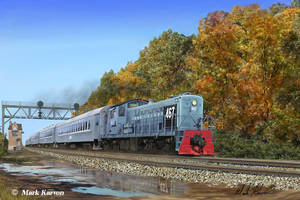 ALCo RS1 of the Long Island RR by markkarvon