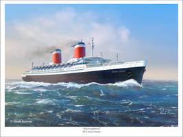 Thoroughbred - SS United States by markkarvon