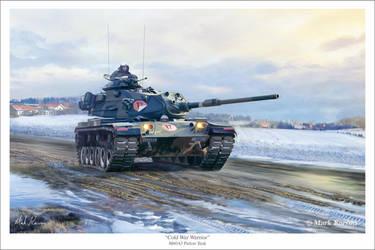 Cold War Warrior by markkarvon