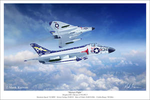 Skyrays Flight by markkarvon