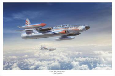 Cold War Interceptor - F-94C Starfire by markkarvon